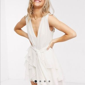 NEW ASOS layered mini dress SZ 12